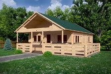 Houten Chalet Bouwen : Houten chalets vakantiewoningen houten woonhuizen blokhutwereld
